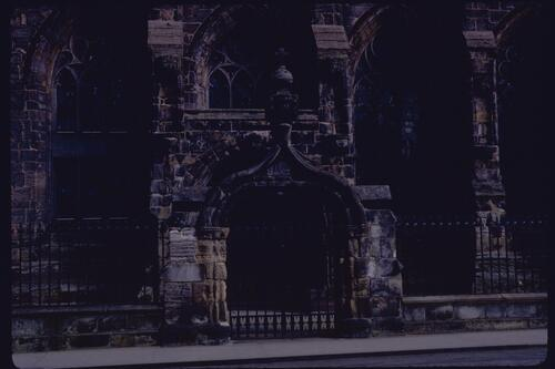 St Salvators gate, St Andrews.