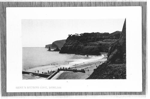 Gent.'s Bathing Cove, Dawlish.