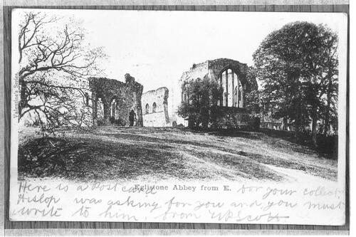 Eglistone Abbey from E.