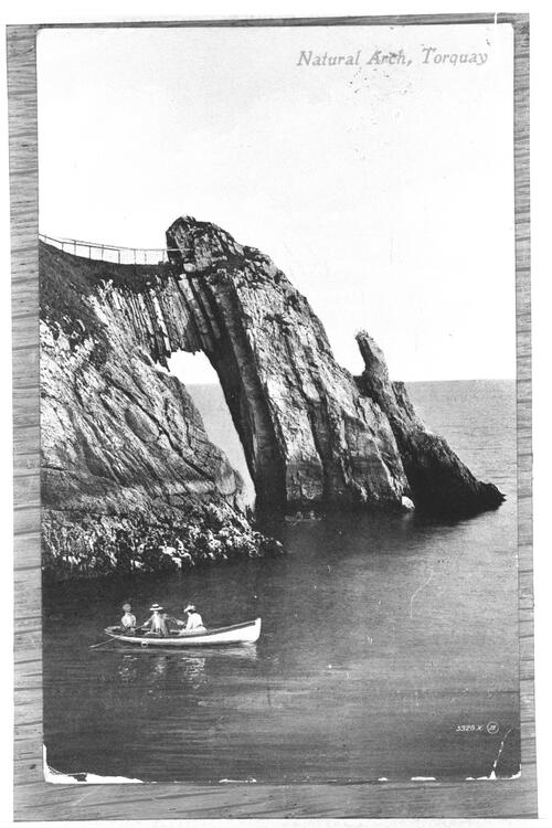 Natural Arch, Torquay.