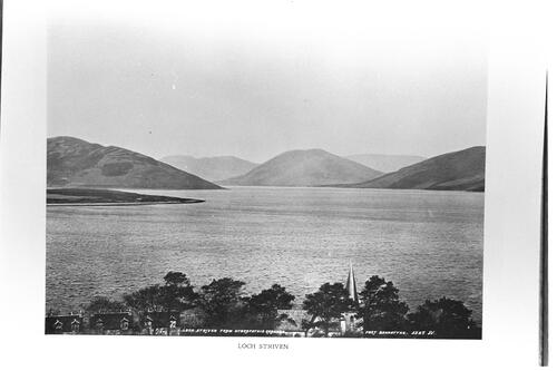 Loch Striven from Hydro Grounds.