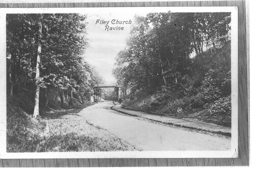 Filey Church Ravine.
