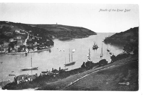 Mouth of River Dart.
