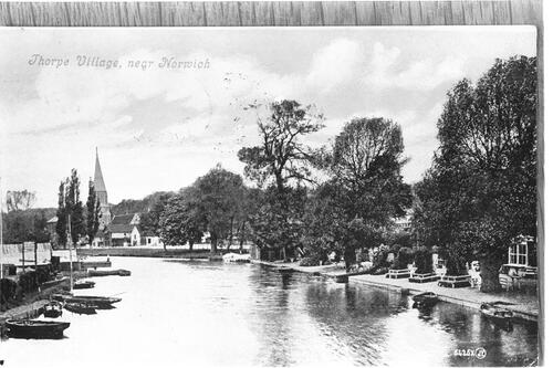 Thorpe Village, near Norwich.