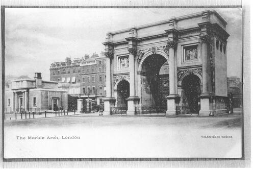 The Marble Arch, London.