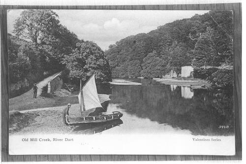 Old Mill Creek, River Dart.