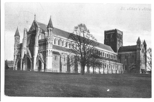 St Alban's Abbey.