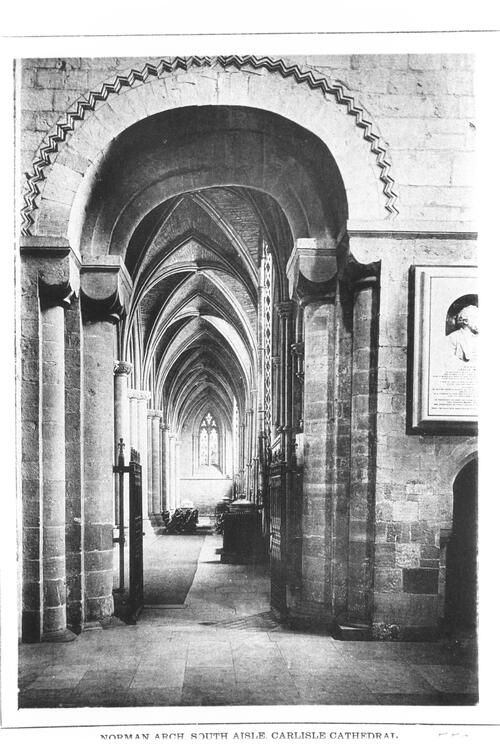 Norman Arch, Carlisle Cathedral.