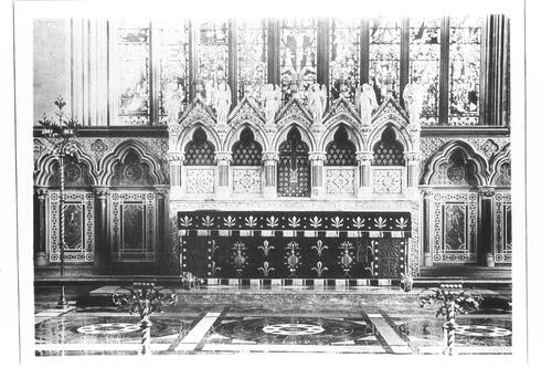 Altar and Reredos, Carlisle.