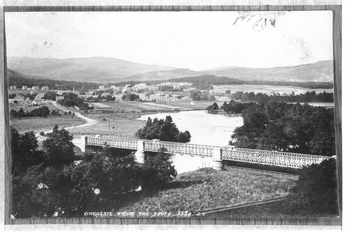 Kingussie from the South.