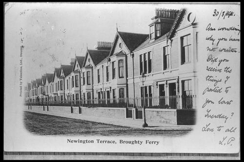 Newington Terrace, Broughty Ferry.