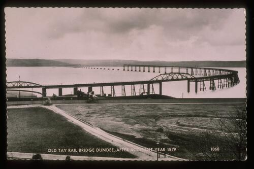 Tay Rail Bridge after Accident.