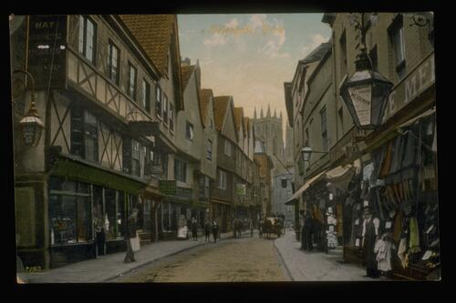 Petergate, York.