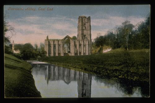 Fountains Abbey, East End.