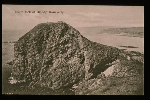 "The ""Rock of Blood"", Dunaverty."