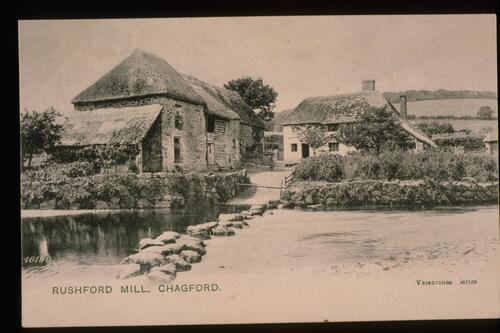 Rushford Mill, Chagford.
