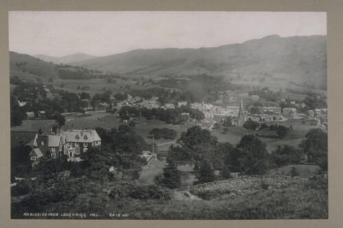 Ambleside from Loughrigg Fell.