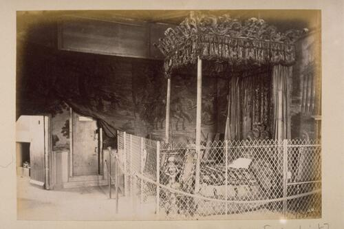 Queen Mary's Bedroom, Holyrood.