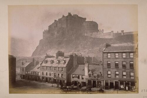 Edinburgh Castle & Grassmarket.