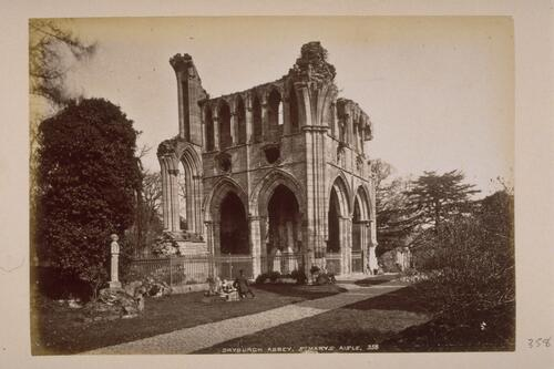 Dryburgh Abbey, St Mary's Aisle.