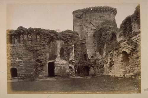 Bothwell Castle, on the Clyde.
