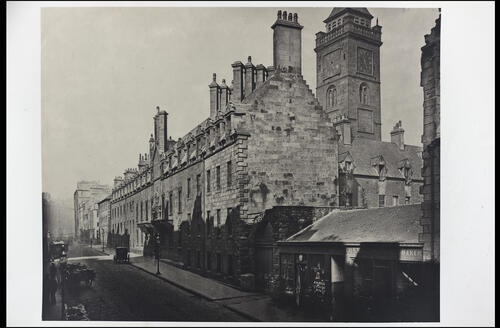 The College, from High Street, [University of Glasgow] Glasgow.