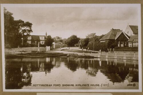 Rottingdean Pond.