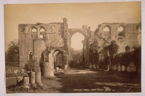 Furness Abbey, from west.