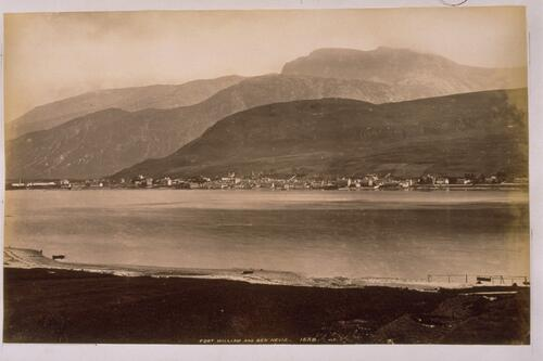 Fort William and Ben Nevis.