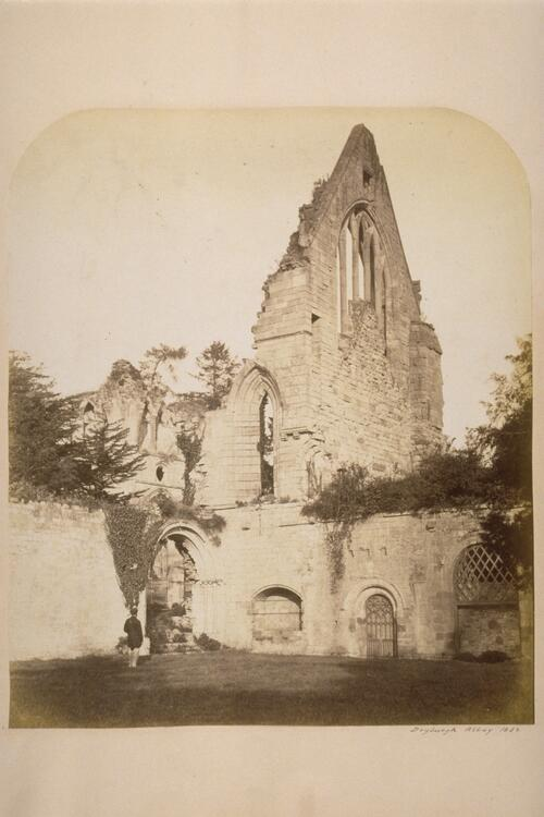 Dryburgh Abbey [from Cloisters].
