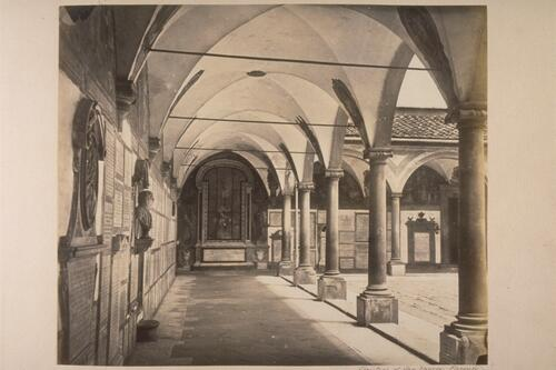 Cloisters of San Marco, Florenda.