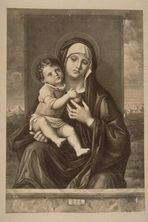 Mary and Christ Child.