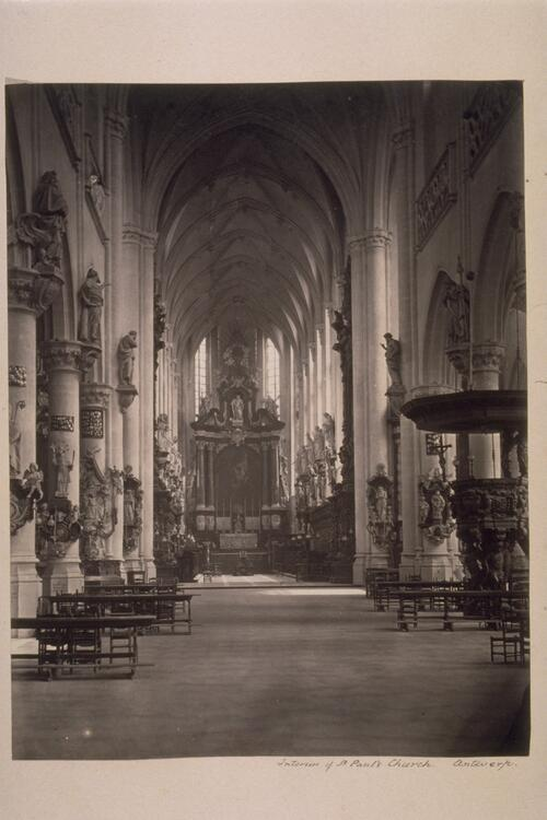 St Paul's Church, Antwerp.