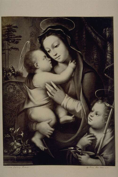 [Mary and the Christ Child].