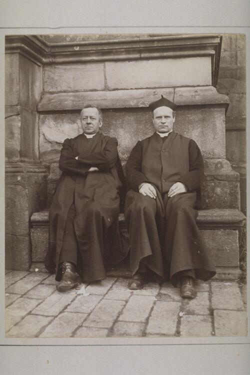 Fathers Gerard and Sircum.