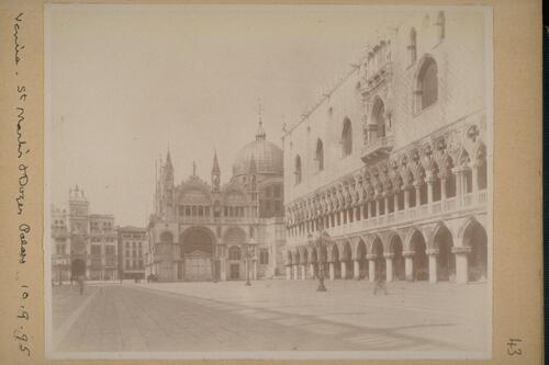 St Mark's and Doge's Palace.