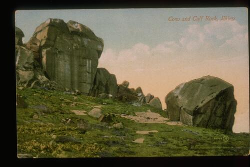 Cow and Calf Rock, Ilkley.