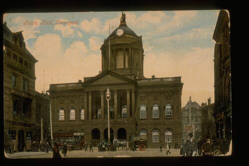 Town Hall, Liverpool.