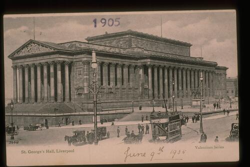 St George's Hall, Liverpool.