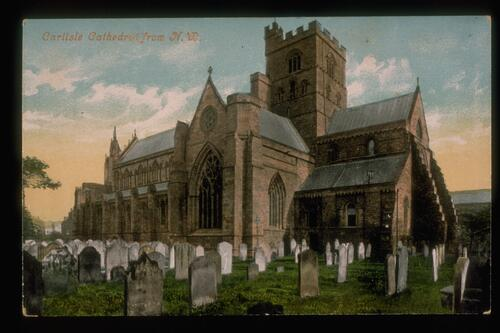 Carlisle Cathedral from N.W.