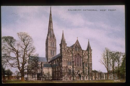 Salisbury Cathedral. West Front.