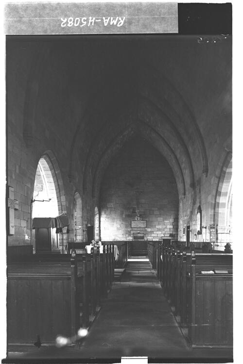 Ladykirk interior from east.