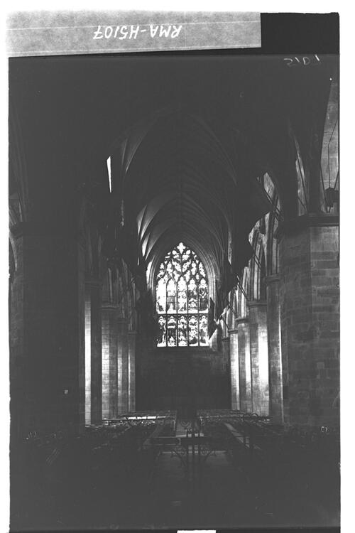 St Giles Cathedral interior.