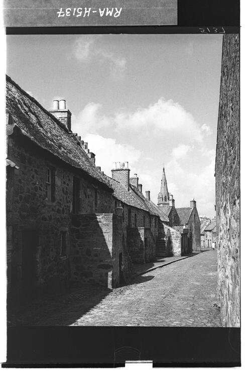 Old houses, Falkland.