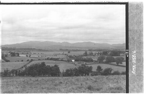 Galloway Hills from Wigtown.
