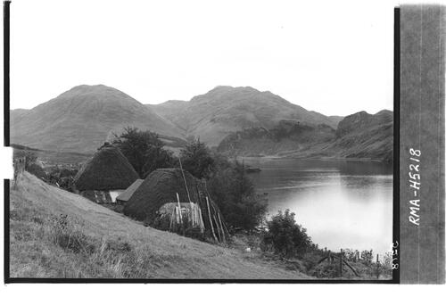Thatched dwellings, Loch Long.