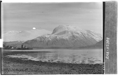 Ben Nevis and Corpach Pier.