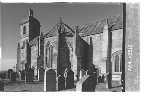 Ladykirk Church, Berwickshire.