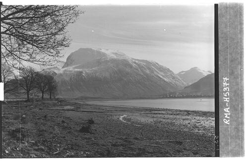 Ben Nevis from Corpach.