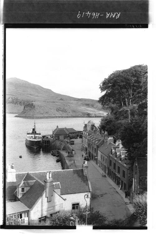 Portree Harbour and Bay, Skye.
